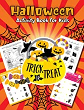 Halloween Activity Book for Kids: Cute Spooktacular Activities, Coloring Pages, Mazes, Puzzles, Connect-the-Dots, and More | Trick or Treat PDF