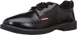 BATA Boy's Nova Scout Black Formal Shoes - 6 Kids UK/India (24 EU) (4216388)