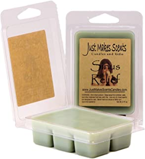 Just Makes Scents 2 Pack - Sinus Relief (Vicks Vapor Rub Type) Scented Wax Melts