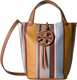 Miller Stripe Bucket Bag