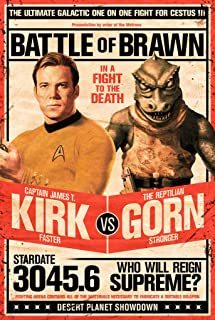 Best kirk vs gorn poster Reviews