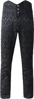 Pantalones para Hombre Steampunk VTG gótico Victoriano