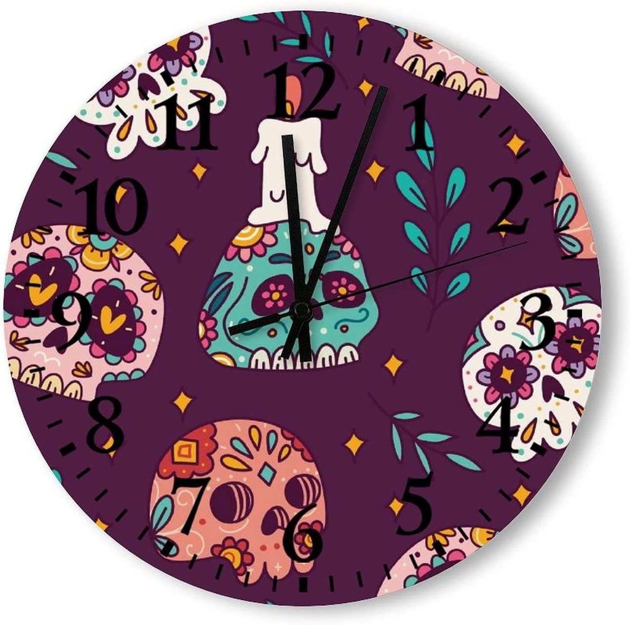 OFFicial Halloween OFFicial shop Decorations Indoor Vintage Clocks Wall Batte
