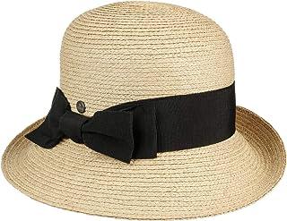 Lierys Cappello di Paglia Leona Donna - Made in Italy Estivo da Sole con Nastro Grosgrain Primavera/Estate