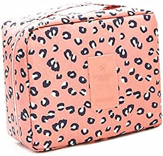 CalorMixs Travel Cosmetic Bag Printed Multifunction Portable Toiletry Bag Cosmetic Makeup Pouch Case Organizer Bathroom Storage Bag for Travel for Women Girls