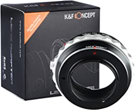 K&F Concept Lens Mount Adapter Nikon G Lens to M43 Micro Four Thirds M43 System Camera Adapter GF2 GF3 G2 G3 GH2 E-PL3 PM1