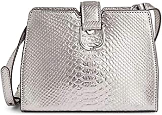 Lauren Ralph Lauren Python-Print Leather Crossbody Bag
