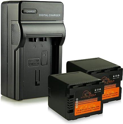 Batería CARGADOR para Panasonic hdc sd800 sd900 sd909 tm900 hs900