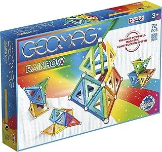 Rainbow Magnetic Building Set, Multicolor - 72 Pieces