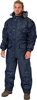 HAGOR Navy Blue IDF Snowsuit Winter Clothing Snow Ski Suit Coverall Insulated Suit