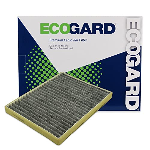 ECOGARD XC35448C Premium Cabin Air Filter with Activated Carbon Odor Eliminator Fits Buick LeSabre 2000-2005, Lucerne 2006-2011 | Cadillac DeVille 2000-2005