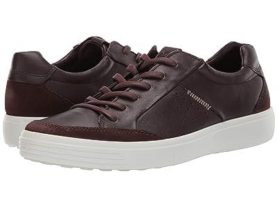 ECCO Soft 7 Relaxed Sneaker (Coffee/Mocha) Men