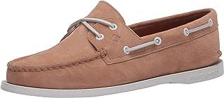 Sperry Women's Authentic Original Boat Shoe, TAN NUBUCK, 5