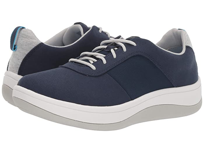 Clarks  Arla Step (Navy Textile) Womens  Shoes