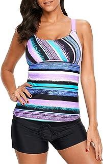 4e0d284d4e6 Amazon.com  Purples - Tankinis   Swimsuits   Cover Ups  Clothing ...