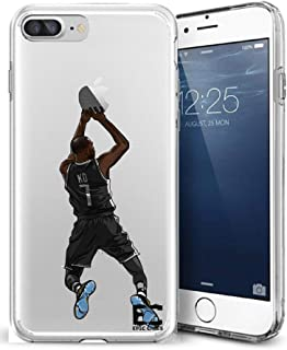 Epic Cases iPhone6 iPhone 7/iPhone 8 Case Ultra Slim Crystal Clear Basketball Series Soft Transparent TPU Case Cover Apple (iPhone 6/6s) (iPhone 7) (iPhone 8) - KD Durant Nets (iPhone 6/7/8)