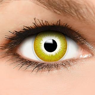 b741b16878 FUNZERA® Lentillas de Colores Avatar + recipiente para lentes de contacto,  sin dioptrías pack