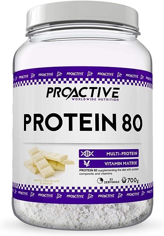 ProActive Worldwide Nutrition, Mezcla de proteinas 80 ...