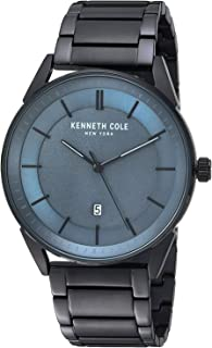 Kenneth Cole Men's Dark Blue Dial Stainless Steel Band Watch - KC50190003