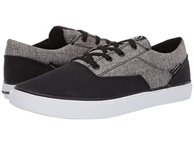 Volcom Draw Lo (Heather Black) Men