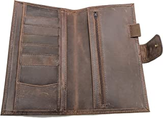 Brown Mega Weeks Cover for Hobonichi Planners Real Leather Agenda Organizer Diary