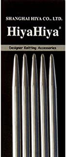 12.5cm Size US 2 2.75mm Knitters Pride Knitting Needles Dreamz Double Pointed 5 inch Bundle with 10 Artsiga Crafts Stitch Markers 200104
