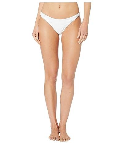 Eberjey Waves Dree Bikini Bottoms (White) Women