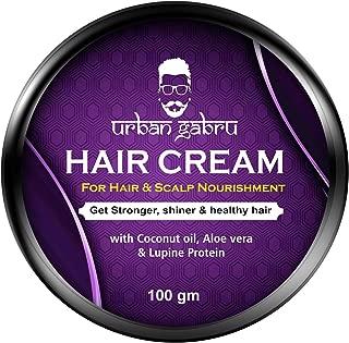 UrbanGabru Hair cream for medium hold & hair and scalp nourishment - daily use100 gm