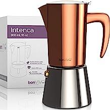 BonVivo Intenca, espressobryggare av rostfritt stål