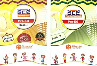 Pre-KG / Nursery Kids 206 Activities Early Learning Skill Development Practice Worksheets (Age 2.5 to 3.5) - Alphabets, Numbers, Strokes, Art & Craft, General Knowledge PLUS Free 54 Picture Card set for 19 Cognitive Skills Development Fun Activities & Workbook Early learning Worksheets for Kindergarten, Nursery Kids, Toddlers, Pre Schoolers-2018
