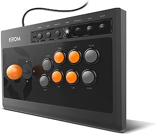 KROM Kumite - NXKROMKMT - Gamepad Arcade Multiplataforma, Fighting Stick