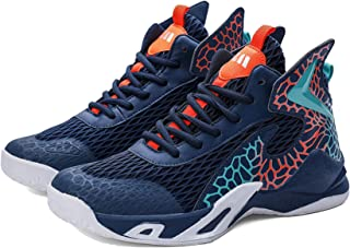 Scarpe da basket da uomo, antiscivolo, scarpe da ginnastica sportive leggere, traspiranti, per mantenersi al caldo in autu...