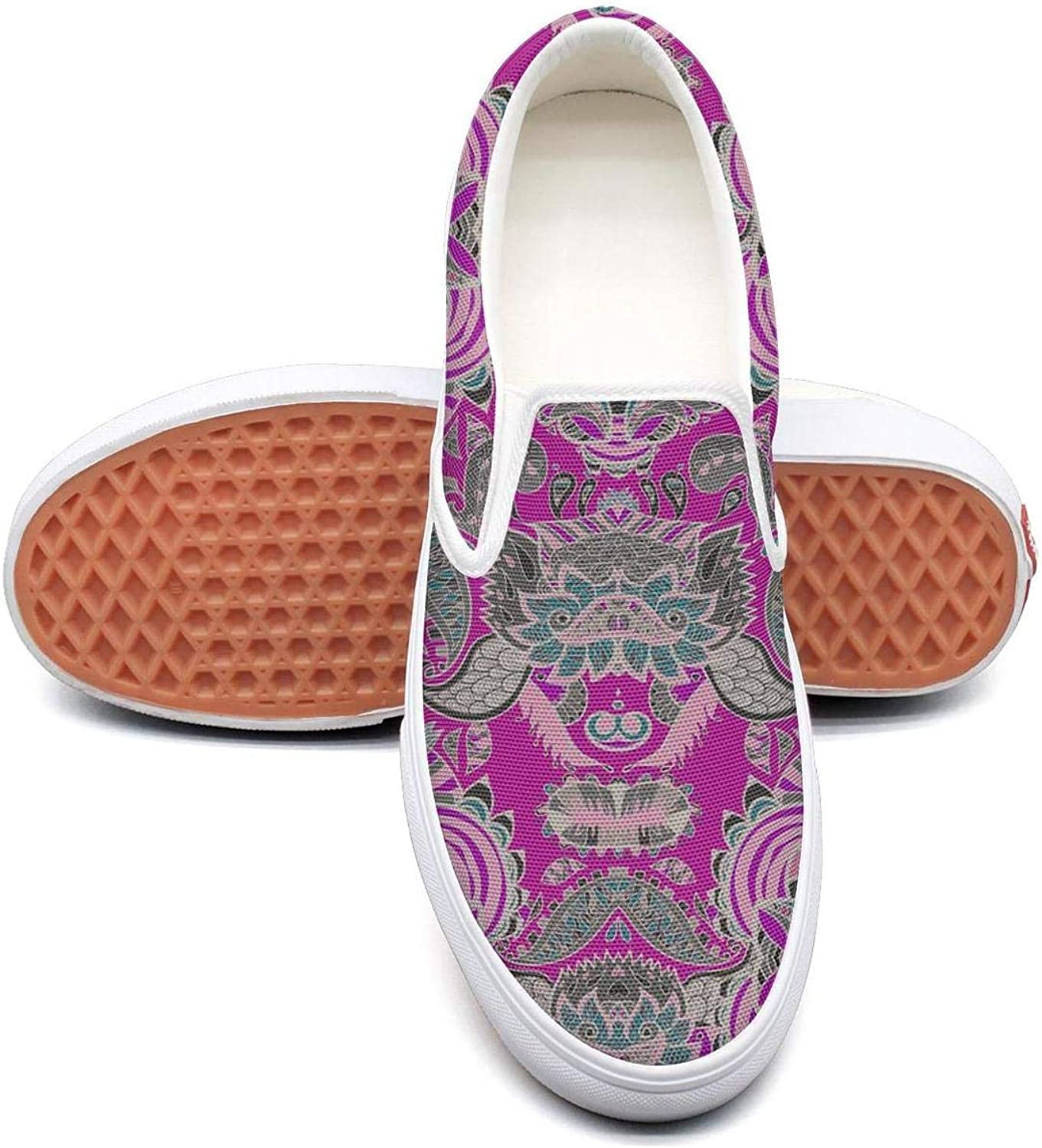 SOFIE MARTIN Abstract Hand-Drawn Pattern Womens Canvas shoes Low Top Lightweight Breathable