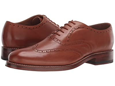Bostonian Rhodes Brogue (Tan Leather) Men