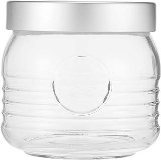 Bormioli Rocco Officina Vaso Jar, Clear, 750 ml, Round, Glass