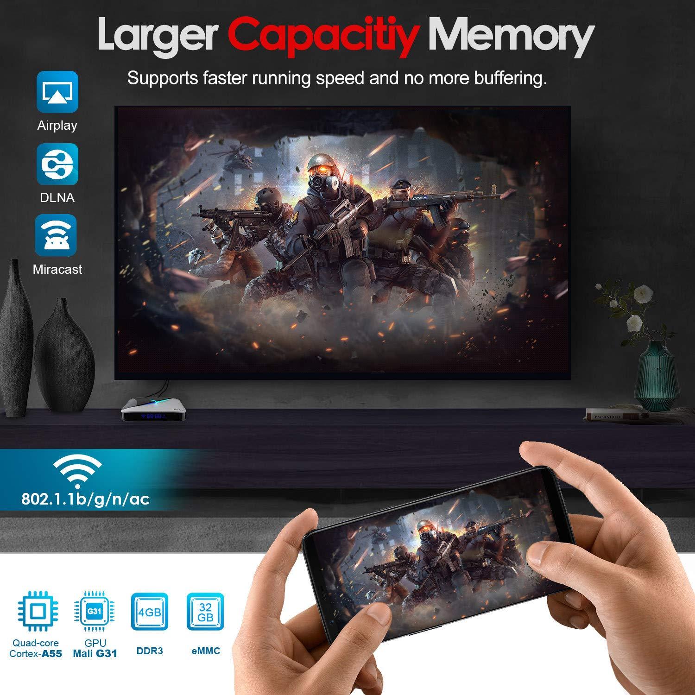 Android 9.0 TV Box Quad Core Amlgic 905 X3 A55, 8K 4G RAM/64G ROM ...