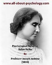 Psychological Notes on Helen Keller