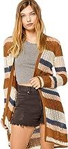 Sky and Sparrow Stripe Lightweight Maxi Cardigan