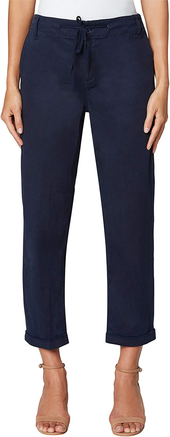 Liverpool Stretch Twill Utility Pants with Drawsting Catamara in online Max 73% OFF shopping