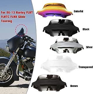 "6/"" 8/"" Wave Windshield Windscreen For Harley Touring FLHT FLHTC  1996-2013"