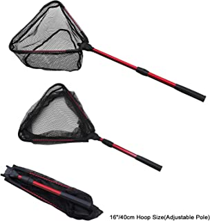TONG JI Fishing Net, Fish Nets Foldable Fish Landing Net...