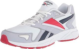 Reebok Royal Hyperium Sneaker, White/Cold Grey/Vector Red, 13.5 Women/12 Men
