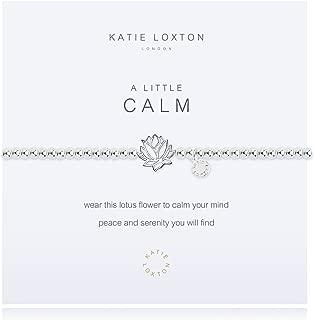 Katie Loxton A Little Reminder Silver Women's Stretch Adjustable Charm Bangle Bracelet
