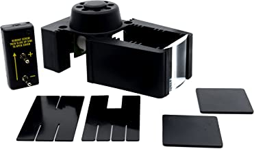 LED Ray Box, Battery Operated - Includes Slit Plates and Concave Lens - Seven Grooves for Lenses and Accessories - Eisco Labs