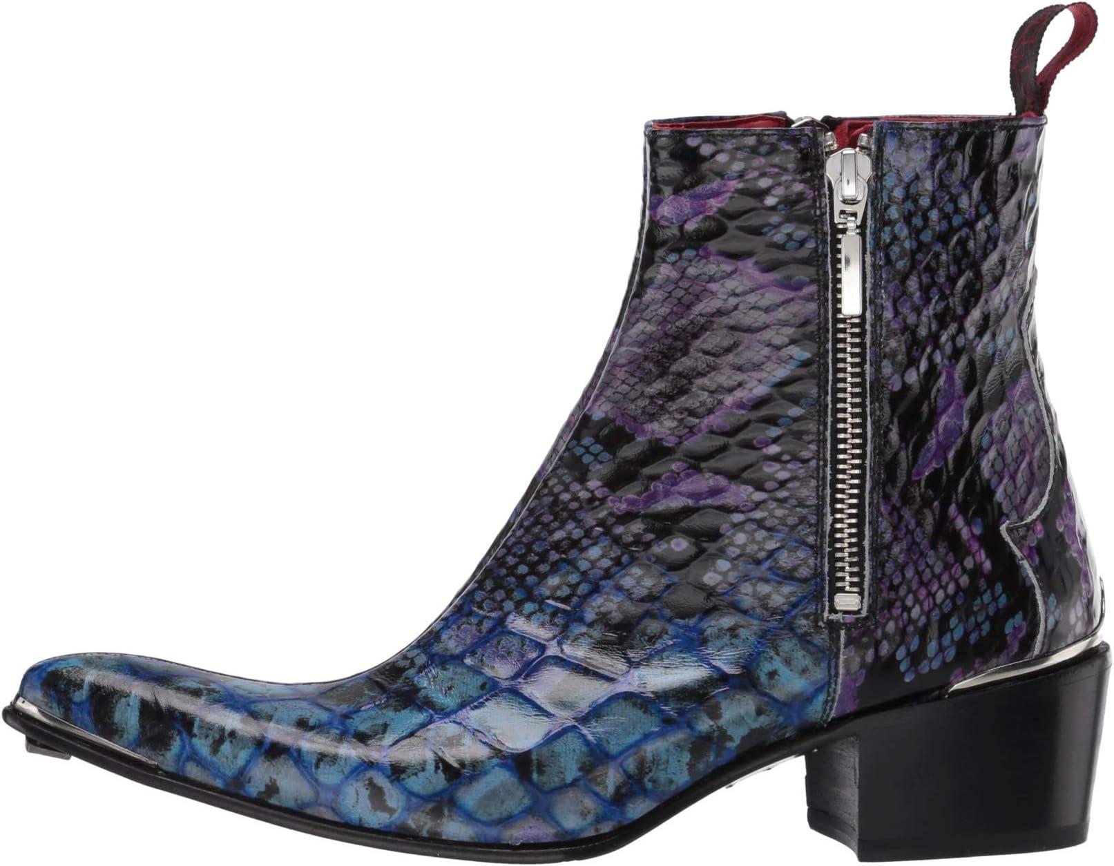 Jeffery-West Double Metal Zip Boot Sylvian | Women's shoes | 2020 Newest