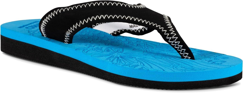 Des sandales frasko frasko frasko - plage, piscine, étanchéité.  noll vinst