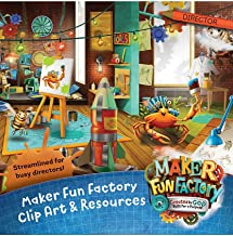 Maker Fun Factory Clip Art & Resources CD (Group Easy Vbs 2017)