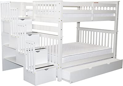 Amazon Com Donco Kids 45045tss Series Bed Twin Silver Kitchen
