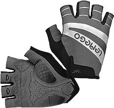 MTB Handschoenen Mannen Vrouwen Vingerloze Zomer, Fietshandschoenen Gel Gewatteerde Handschoenen Reflecterende Ademende An...
