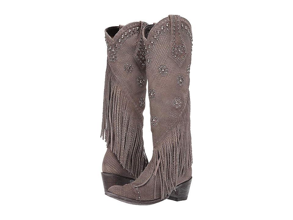 Old Gringo Savannah Tall (Grey) Cowboy Boots